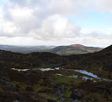 """Waterford Country""from Coumshingaun Lake,Comeragh Mountains. by Pat Duggan"