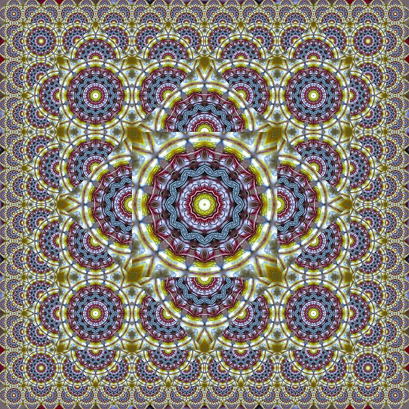 Beer Glass II Escher Tessellation by Hugh Fathers