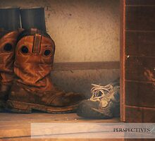 Home is Where You Take Your Boots Off by AngS