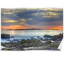 Catalina Sunset (Catalina Island, California) Poster