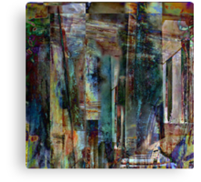 the third layer Canvas Print