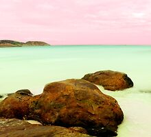 Lucky Bay, Esperance, Western Australia by Julia Harwood