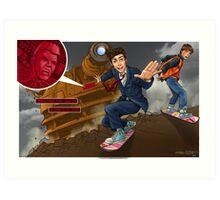 Back to the TARDIS part 3 Art Print