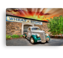 HDR Classic Sunset Canvas Print