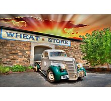 HDR Classic Sunset Photographic Print