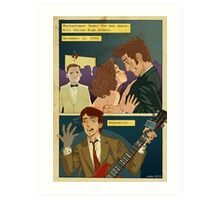 Back to the TARDIS part 2 Art Print
