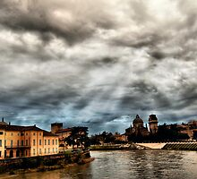 Rainy days in Verona by kumari