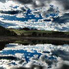 Sky reflections by Alison Frost