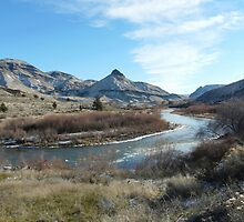 John Day River & Sheep Rock by Nichespur