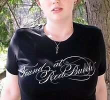 Buyer's Booth Photo; Me in my RB Anniversary Tee by Kristin Sparks