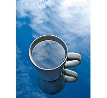 Clouds In My Coffee Photographic Print