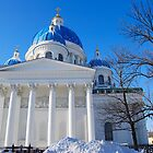 The Trinity Cathedral, St Petersburg, Russia by inglesina