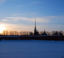 The Peter and Paul Fortress, St Petersburg, Russia by inglesina