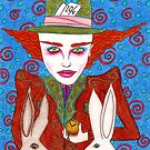 Mad Hatter Portrait by Octavio Velazquez