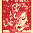 Red Bowie From Mars by RichPickins