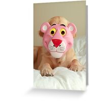 The Return of the Pink Panther Greeting Card