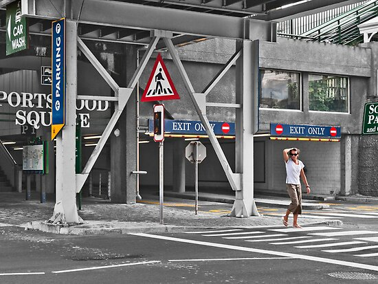 Pedestrian crossing by awefaul