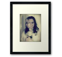 the twins Framed Print