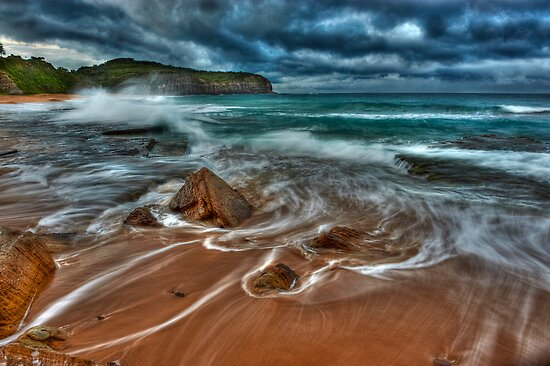 Stormy Morning by Ian English