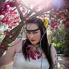 In the Sunshine, Under the Blossoms - Alyssa Hedrick by Bumzigana