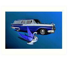 1959 Ford Ranch Wagon Art Print