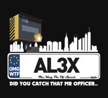 ALEX NUMBERPLATE DESIGN FUNNY by viperbarratt