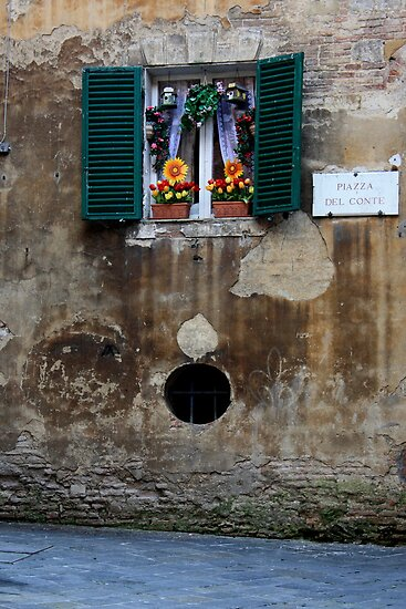 Window Art, Siena by Indrani Ghose