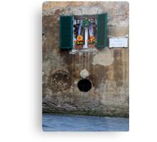 Window Art, Siena Metal Print