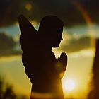 Angel Silhouette by gothicolors