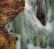 Icy Crag (detail) by Aaron Campbell