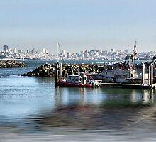 San Francisco from Sausalito by Kimberly Palmer