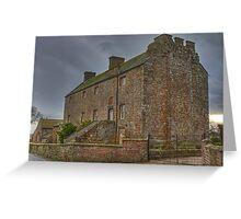 Drumburgh Castle Greeting Card
