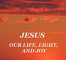 Jesus: Our Life, Light, and Joy by hummingbirds
