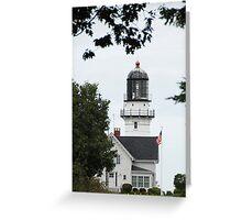 Cape Elizabeth Light - Maine Greeting Card
