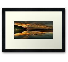 Mystical Morn - Narrabeen Lakes Entrance, Sydney - The HDR Experience Framed Print