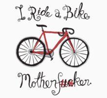 I ride a bike! (Mono Version) by creativepanic