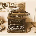Old Typewriter by Rosalie Scanlon