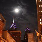 Moon Over Market Street by Joe Jennelle