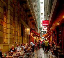 Causeway Lane, Melbourne by Christine Smith