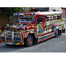 The Philippine Jeepney Photographic Print