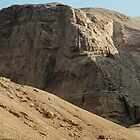 Masada Mountains In Israel by Michael Redbourn