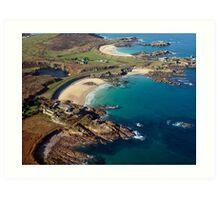 Corblet's Beach - Alderney Art Print