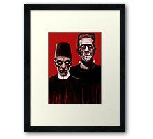 THE ODD COUPLE ! Framed Print