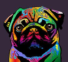 Pug Dog by ArtPrints