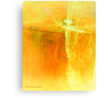 Beyond the cross Canvas Print