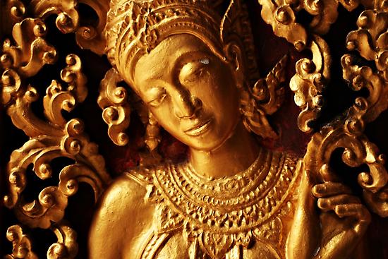 Gold Relief by Paul McSherry