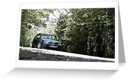 Mk3 Golf In The Trees by Adam Kennedy