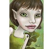 Oak tree elf Photographic Print