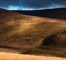 Light and Shade on the Brecons by Cliff Williams