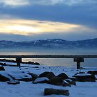 Blue & Gold - MT Sunset by Nichelle Jones